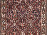 Blue and Burgundy area Rugs Burgundy 8 4 X 11 8 Bakhtiar Persian Rug