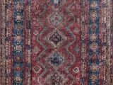 Blue and Burgundy area Rugs Korn oriental Burgundy Blue Gold area Rug