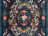 Blue and Coral area Rug Loloi Rugs 8 X 10 Black Blue and Coral area Rug