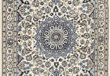 Blue and Cream oriental Rug Cream 4 X 6 5 Nain Persian Rug Persian Rugs