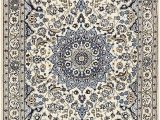 Blue and Cream oriental Rug Cream 4 X 6 5 Nain Persian Rug Persian Rugs