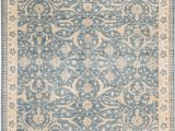Blue and Cream oriental Rug Sultanabad oriental Hand Knotted Wool Light Blue Cream area Rug