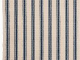Blue and Cream Striped Rug Blue and Cream Striped Rug