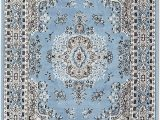 Blue and Gray area Rugs 9×12 Amazon Light Blue Traditional 9×12 oriental area