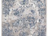 Blue and Gray area Rugs 9×12 Opheim Medallion Blue Gray area Rug