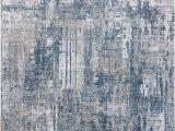 Blue and Gray Shag Rug Dynamic Rugs Onyx 6878 590 Blue Grey area Rug