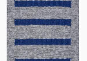 Blue and Gray Wool Rug Custom Kavi Gray Blue Hand Woven Flatweave Wool Rug