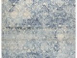 Blue and Gray Wool Rug Thora Wool Light Gray Blue Rug