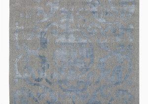 Blue and Gray Wool Rug Vienna 51 Grey Blue Transitional Wool Rug Ghadamian Rugs