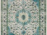 Blue and Lime Green area Rugs Aberdine Teal Lime area Rug