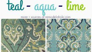 Blue and Lime Green area Rugs Remodelaholic