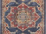 Blue and Rust Rug Dulin Blue Rust Red area Rug Red area Rug area Rugs