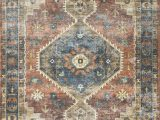 Blue and Rust Rug Square oriental Rust Blue area Rug Joss Main