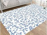 Blue and White area Rugs 5×7 Amazon Com Bisead area Rug 5×7 area Rugs for Kids