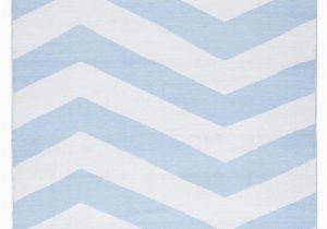 Blue and White Chevron Rug Coastal Indoor Outdoor Rug Chevron Sky Blue White Floorsome