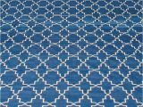 Blue and White Dhurrie Rug Modern Indian Dhurrie Deep Indigo Blue and White Cotton Rug N by Dlb