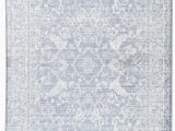 Blue and White Floral Rug Lumineer Floral Blue & White area Rug In 2020
