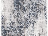 Blue and White Modern Rug Casper Distressed Modern Rug Blue Grey White – Rugsdirect