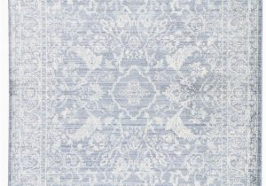 Blue and White Patterned Rug Lumineer Floral Blue & White area Rug In 2020