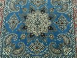 Blue and White Persian Rug Blue Persian Rug