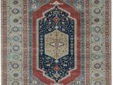Blue area Rugs 10×14 E Of A Kind Bakshahesh Hand Knotted Blue 10 X 14 Wool area Rug