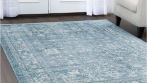 Blue area Rugs for Sale Artisan Border Viscose Blue area Rug Blue area Rugs