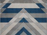 Blue area Rugs Near Me Metrotown Grey Blue area Rug Geometric Design Rug Grey