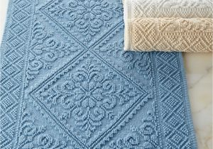 Blue Bath Rug Sets Estoril Bath Rug Blue Bathroom Rugs Cotton Bath Rug