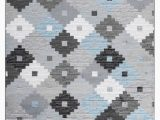 Blue Black Gray area Rug Caledian Quilt Gray Blue Black area Rug