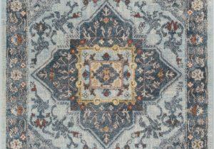 Blue Bottom Rug Company Mystic Modern Vintage Bohemian oriental Blue area Rug