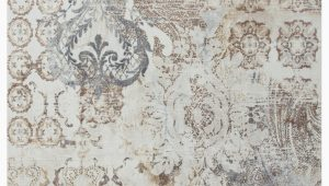 Blue Brown Cream area Rug Shockey Blue Brown Cream area Rug
