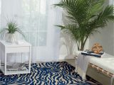 Blue Cheetah Print Rug Gerdes Animal Print Navy Blue area Rug