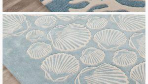 Blue Coastal area Rugs Blue Plush Coastal area Rug