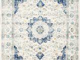 Blue Cream area Rug Hosking Persian Inspired Blue Cream area Rug