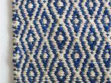 Blue Diamond Pattern Rug Amazing Carpet In Blue Diamonds 3×7 Feet