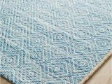 Blue Diamond Pattern Rug Belize Blue Diamond Rug