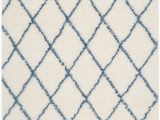 Blue Diamond Pattern Rug Blue Diamond Shag Rug