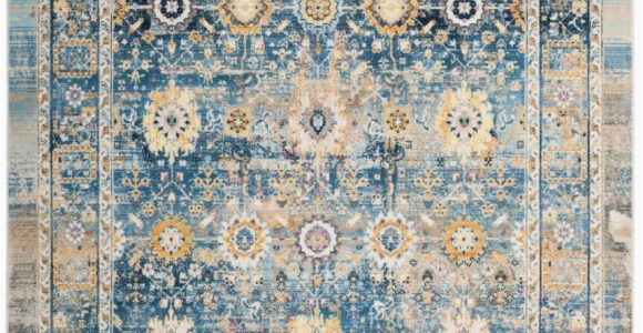 Blue Gold area Rug Safavieh Claremont Clr663c Blue Gold area Rug