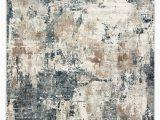 Blue Gray and Brown area Rug Sisario Abstract Blue & Gray area Rug