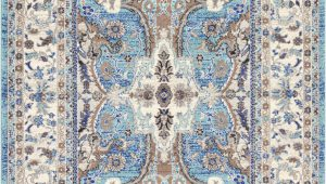 Blue Gray and Tan area Rug Duckett oriental Light Blue Gray Tan area Rug
