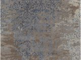 Blue Gray Brown area Rug Rupec Collection Hand Tufted area Rug In Grey Blue & Brown
