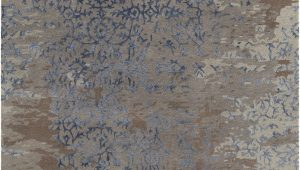 Blue Gray Brown Rug Rupec Collection Hand Tufted area Rug In Grey Blue & Brown