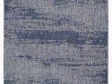 Blue Gray Outdoor Rug Rubinstein Abstract Blue Gray Indoor Outdoor area Rug