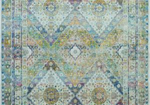 Blue Green oriental Rug Nourison Ankara Global Anr07 Blue Green area Rug
