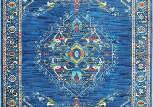 Blue Green oriental Rug oriental Weavers Joli 564 area Rugs