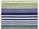 Blue Green Striped Rug Felicia Modern Abrash Stripes Rug Blue Green