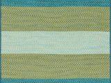 "Blue Green Striped Rug Garrett Blue Green 3 6"" X 5 6"" Rug"