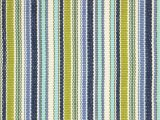Blue Green Striped Rug Pond Striped Handwoven Blue Green White Indoor Outdoor area Rug