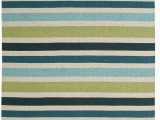 "Blue Green Striped Rug Rizzy Swing Sg 3043 Striped Rug Green 2 0""x3 0"""