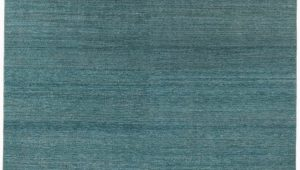 Blue Green Wool Rug Essential Wool Turkish Knotted Modern Green Blue Rug